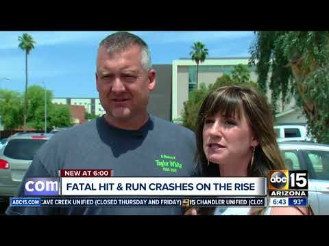 Fatal hit and run crashes are on the rise across Arizona