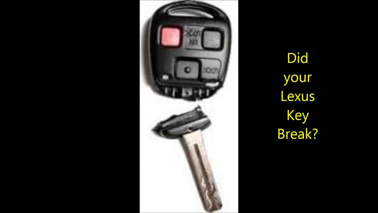Lexus Key Shell Replaced- Broken Lexus Keys Fixed in San Diego, CA