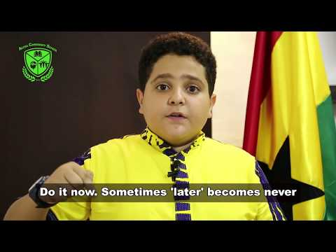 """Accra Community School Presents """"Believe You Can"""" By Hussein Taleb"""