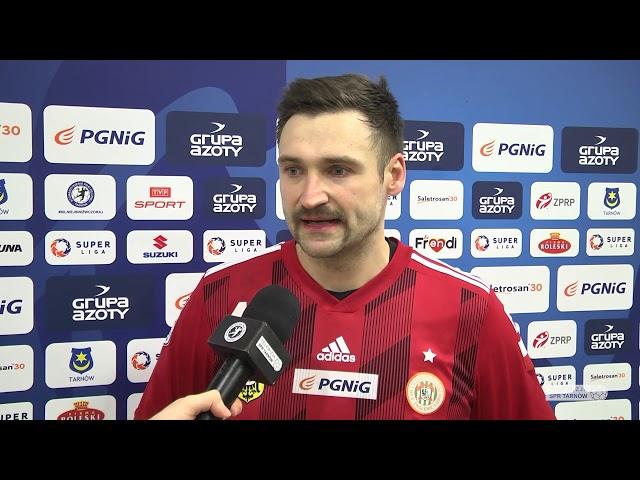 Marcin Schodowski jako najlepszy goalkeeper meczu z Tarnowem #silniejsiniżwczoraj