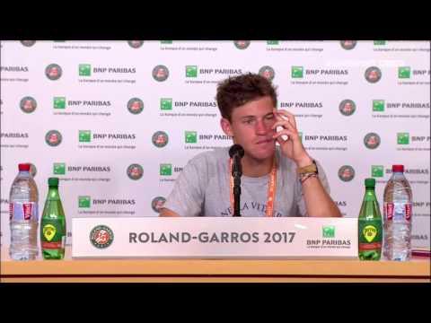 Diego Schwartzman Press Conference RG17 - 2nd of June