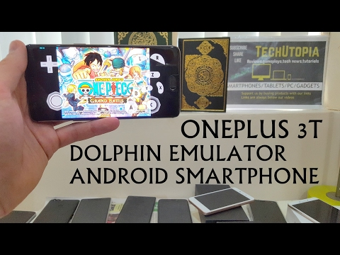 One Piece Grand Battle Dolphin Android Gamecube emulator test on smartphone Snapdragon 821