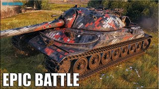 НАГИБАТОР ИС-7 ✅ World of Tanks лучший бой