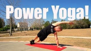 15 min Power Yoga Workout with Sean Vigue - Weight Loss Yoga