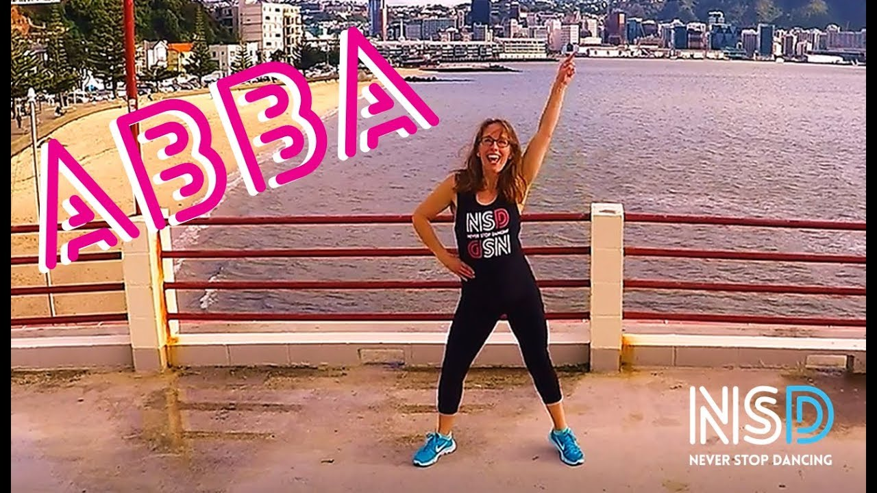 ABBA's Dancing Queen Dance Routine - YouTube