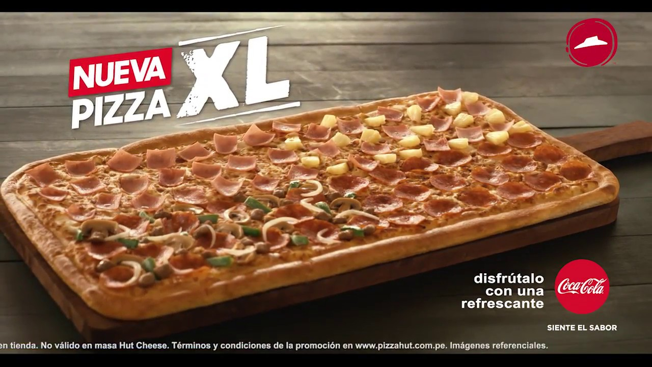 Pizza xl de pizza hut youtube for Oficinas de pizza hut