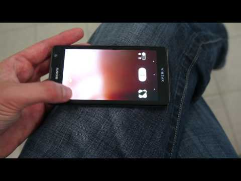 Sony Xperia TX first look