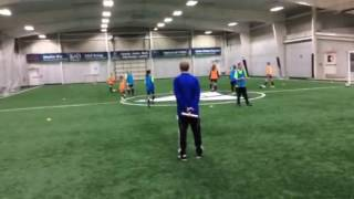 Soccer D License, practice 1- Warm up, Learning