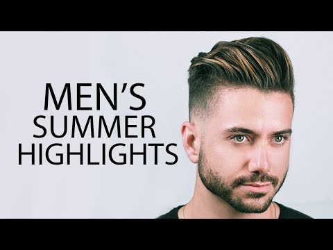 MEN'S HAIR HIGHLIGHTS | Mariano Di Vaio Summer Highlights 2017 | ALEX COSTA