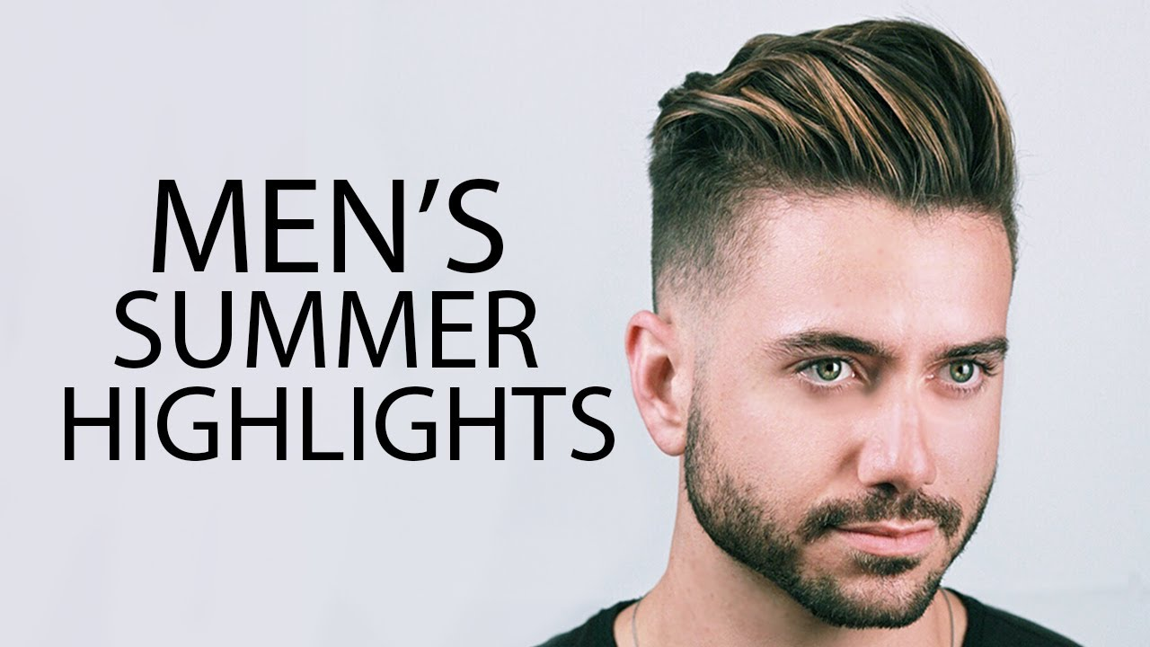 MEN'S HAIR HIGHLIGHTS | Mariano Di Vaio Summer Highlights