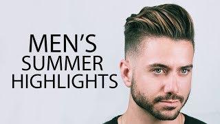 MEN'S HAIR HIGHLIGHTS | Mariano Di Vaio Summer Highlights 2019 | ALEX COSTA