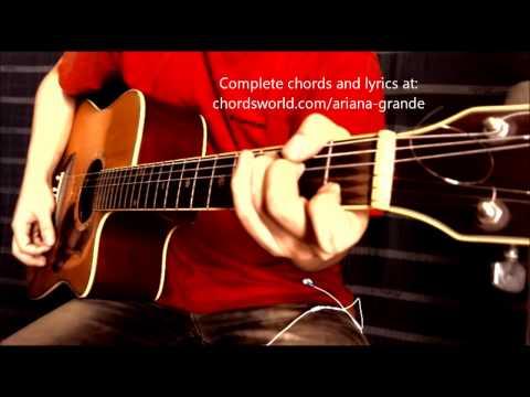 Tattooed Heart Guitar Chords - Ariana Grande - Khmer Chords