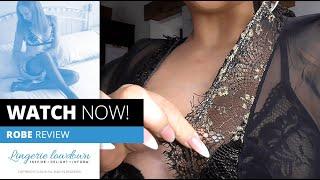 PREVIEW ONLY : Kelli Smith reviews Fantasy Liz metallic lace caftan gown