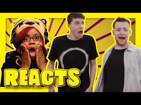 Rejects Feat  Daniel Howell By TomSka | Sketch Reaction