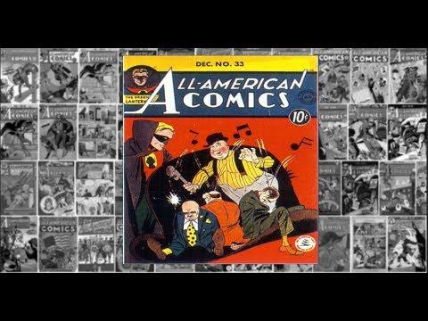 "Green Lantern: ""The Taxi War"", All American Comics #33"