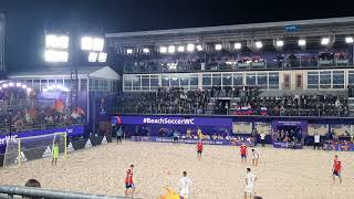 Пляжный футбол Чемпионат мира Россия Испания Пенальти в ворота России 2ой период 3 1 26 08 21