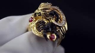 Кольцо в форме животных