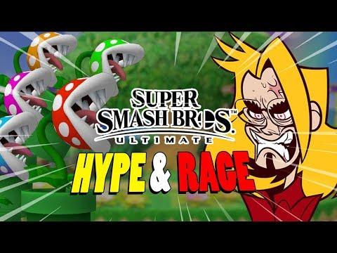 PIRANHA PLANT...EVERYWHERE - Hype & Rage Compilation: Smash Bros Ultimate thumbnail