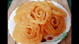 Kurkuri jalebi ghar par kese bnaye Homemade jalebi recipe Methai/sweet dish with Renu (a Multi Guru)