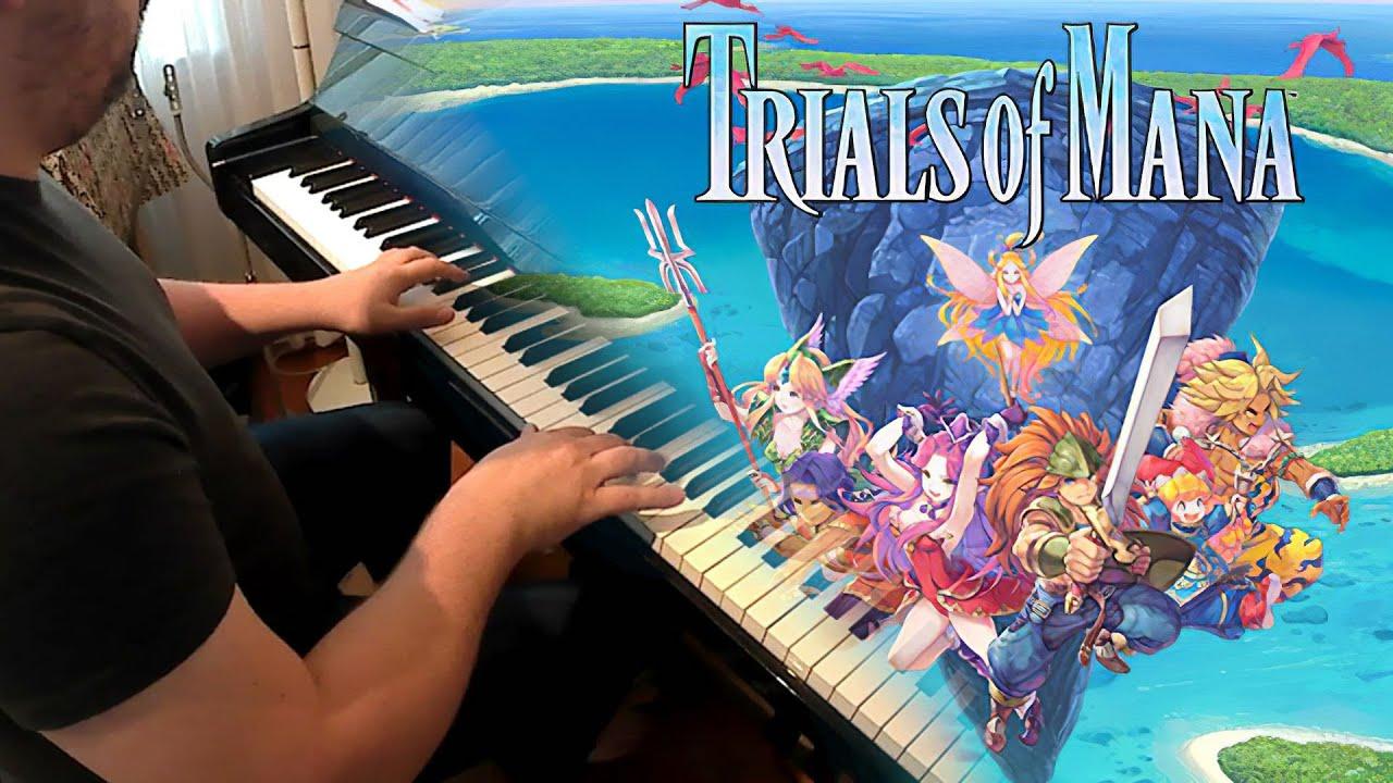 Trials of Mana - Angel's Tears (w/sheets)
