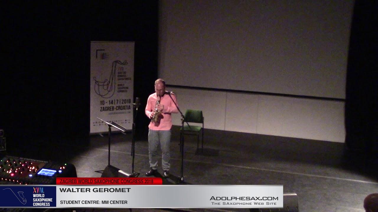 Trieste by Walter Geromet   Walter Geromet   XVIII World Sax Congress 2018 #adolphesax