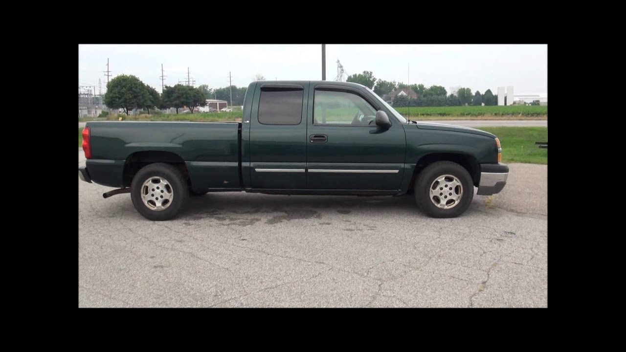 2003 Chevrolet Silverado 1500 Extended Cab LS Long Box. http://www ...