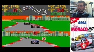 SUPER MONACO GP (Master System) - F1 clásica de 8 bits || Gameplay en Español