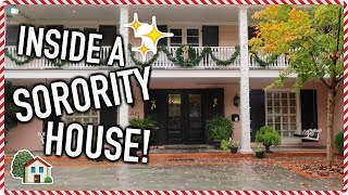 Inside a UT Sorority House!! VLOGMAS DAY 5! | Jeanine Amapola