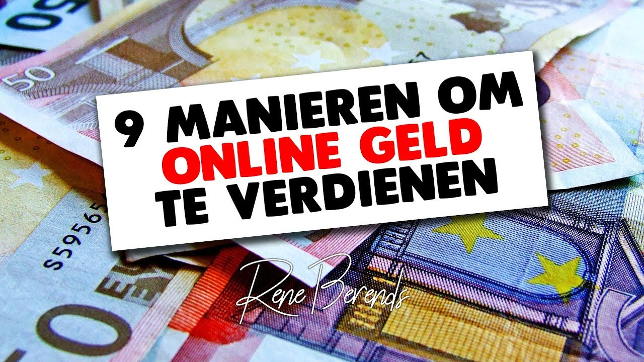 De 6 Manieren om Online Geld te Verdienen
