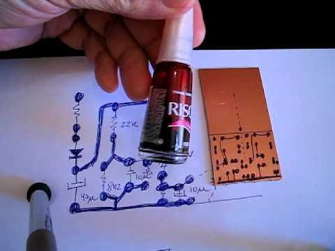 How to make circuit boards fast - Dx way - YouTube