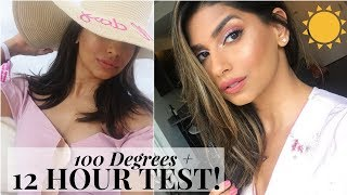 How my Makeup Lasted for 12 HOURS in 100 DEGREES!!! thumbnail