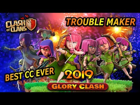 Best TH12 Defensive Clan Castle Troops! Best CC Troops Ever! GloryClash 2019
