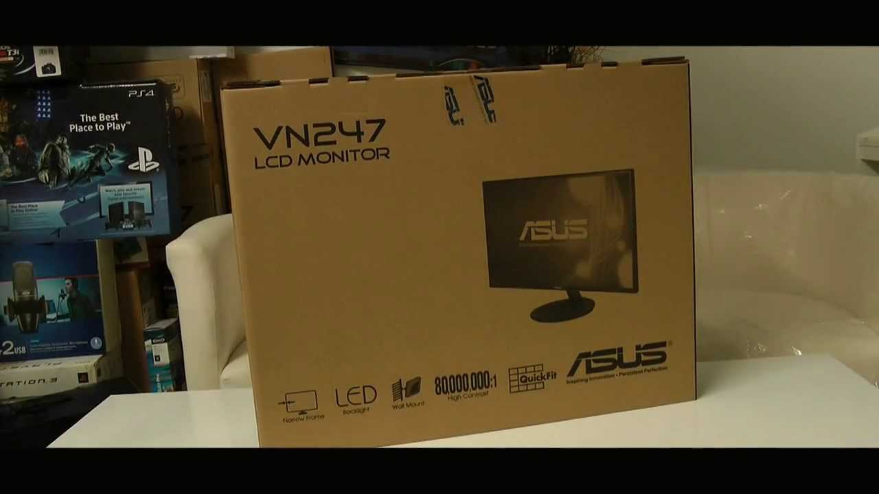ASUS VN247H-P Gaming Monitor Unbox- Review