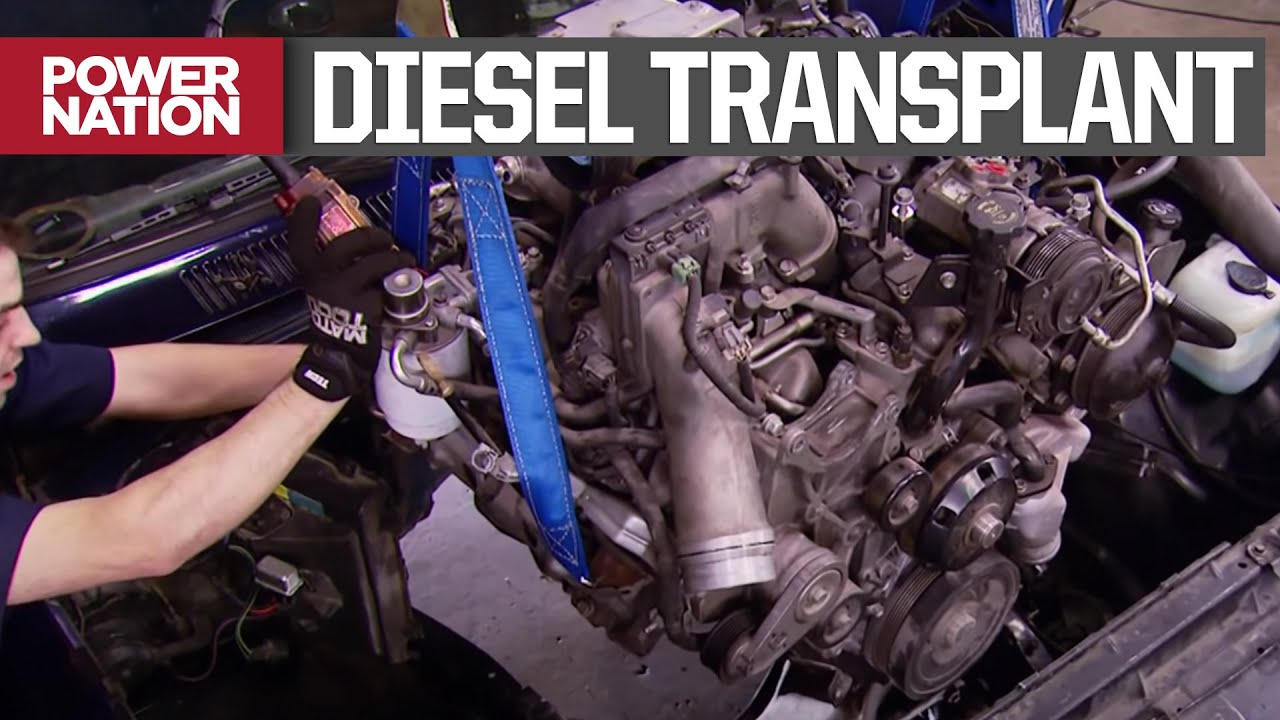 Swapping A Chevy 1500's Stock V8 For A 6.6 Duramax Diesel - Truck Tech S2, E3