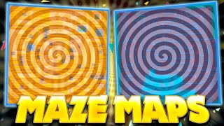These INSANE Maze Maps Will Hurt Your Brain...