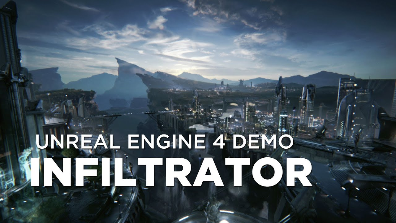 """Infiltrator"" - Unreal Engine 4 Next-Gen Demo"