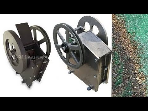 JAW CRUSHER FOR GOLD !!! Mini Process Plant. ask Jeff Williams