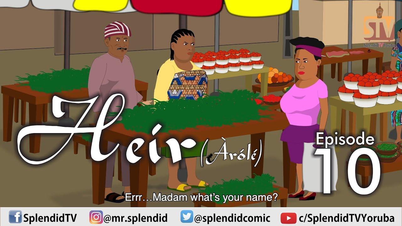Download HEIR (Arole) EPISODE 10 (Mama Bomboy) (Splendid TV) (Splendid Cartoon)
