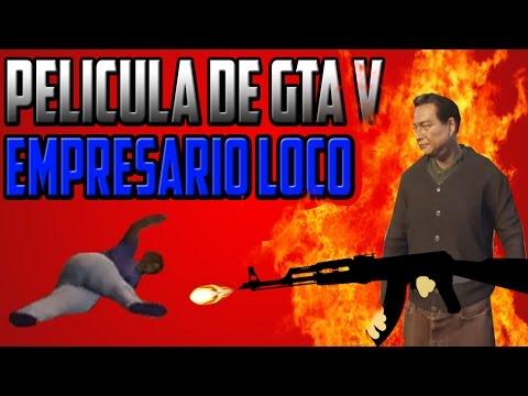GTA 5 PC FULL MOVIE | EL EMPRESARIO LOCO - PELICULA DE GTA V/5 - THEREKI