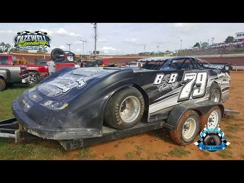 #79 Joshua Sneed - Sportsman - 7-2-17 Tazewell Speedway - In-Car Camera