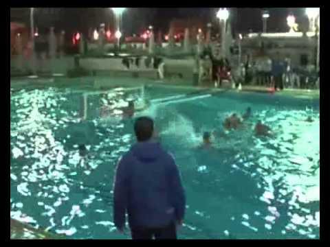 مباراة كرة الماء بين سبورتنج والشرطه عمومى رجال