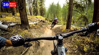 The PERFECT mountain bike trail 🇺🇸 50 STATE SHRED: COLORADO