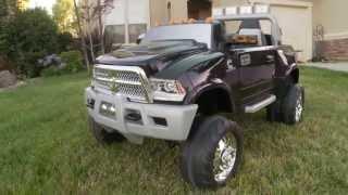 Kid Trax Dodge Ram Truck Review