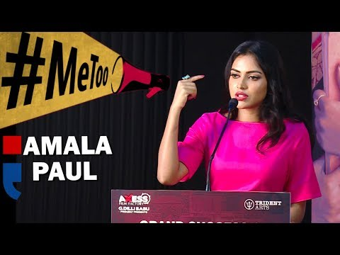 I Was First Affected And Used #METOO -  Amala Paul Opens Up!