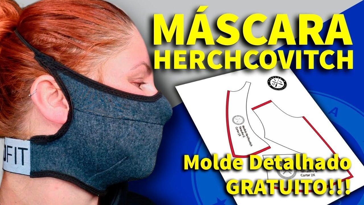 MÁSCARA DE PROTEÇÃO HERCHCOVITCH - FAMÍLIA DIY