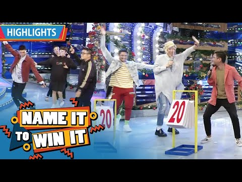 Team Vhong and Team Vice both get a perfect score | It's Showtime Name It To Win It |