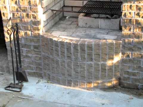 My New Backyard BBQ Barbecue Pit