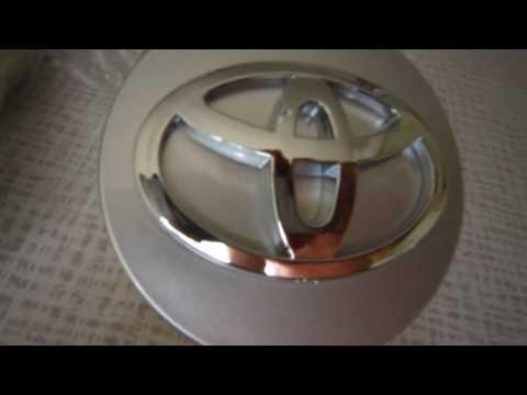 Вставки в колесные диски 62 mm Toyota