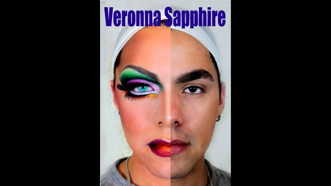 Drag Queen Spring Colorful Makeup by Veronna Sapphire ...
