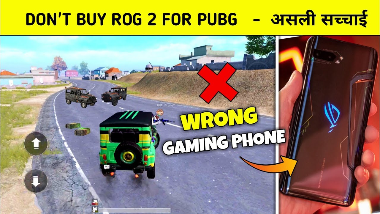 ? Don't buy ROG 2 Gaming Phone - Money waste Real truth - Pubg mobile Hindi Gameplay - G GURUJI